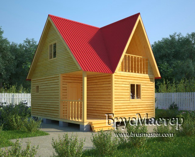 проект дома 7х6