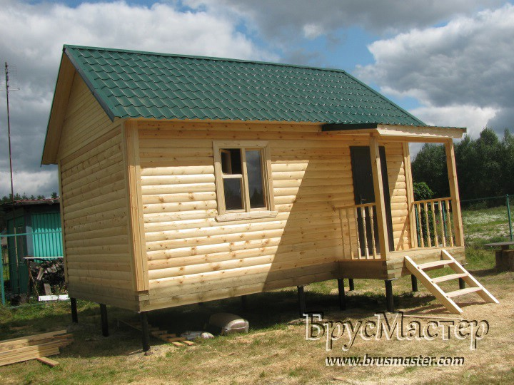 Дачный домик 6х4