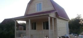 Дом 5х8 в Гатчине